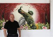 Художественная роспись по стене от дизайн студии Романа Москаленко