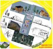 Проектування дома ескіз намірів забудови будівництво під ключ, проекти