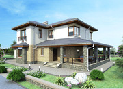 Проектирование загородных домов,  коттеджей